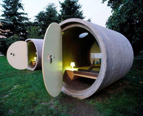 Крошечные дома для комфортной жизни (26 фото)