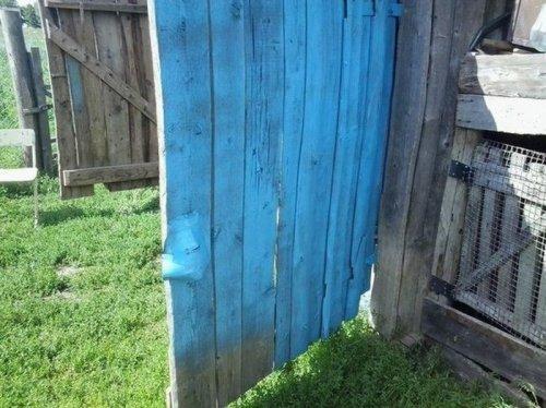 Покраска гаражных ворот с бонусом  (2 фото)