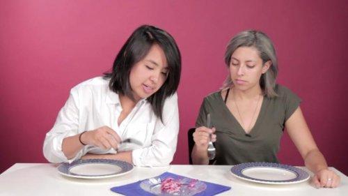 Американцы впервые пробуют блюда русской кухни (5 фото + видео)