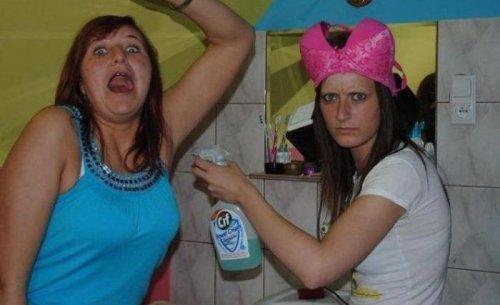 Чудаки и королевы глЯмура из соцсетей (29 фото)