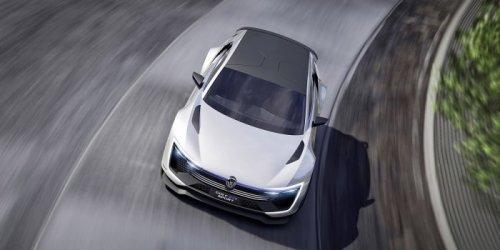 Концепт-кар Volkswagen Golf GTE Sport Concept (13 фото)