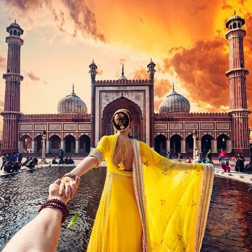 """""""Иди за мной"""" в Индии (6 фото)"""