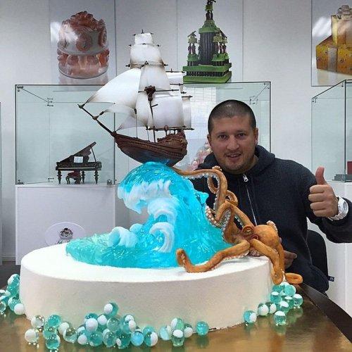Реалистичные торты Рената Агзамова (31 фото)
