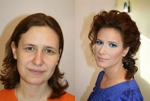 Волшебство макияжа (24 фото)