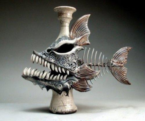 Керамические скульптуры Митчелла Графтона (21 фото)