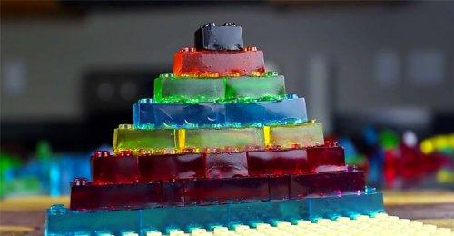 Съедобный LEGO в виде жевательных конфет (8 фото + видео)