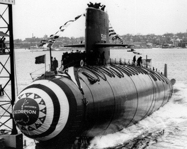 The USS Scorpion Buried at Sea  HistoryNet