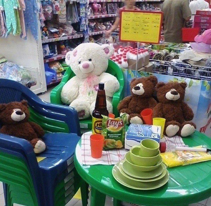 Открытки поздравлениями, смешные картинки про супермаркет