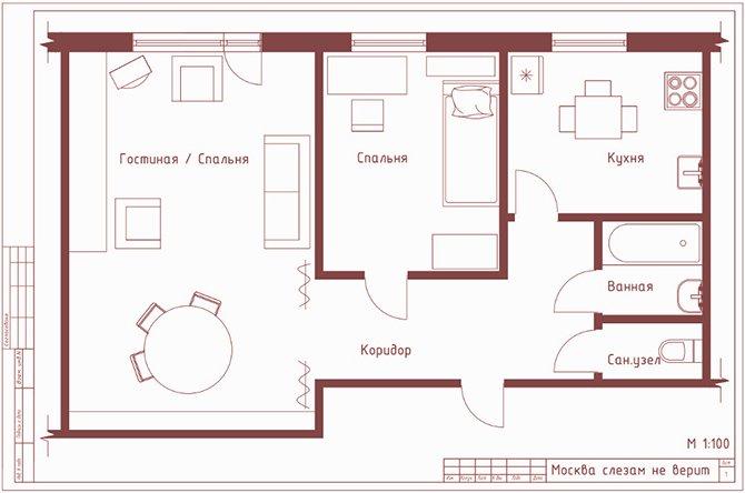 Интерьеры советских квартир  www2291ru запись от 11