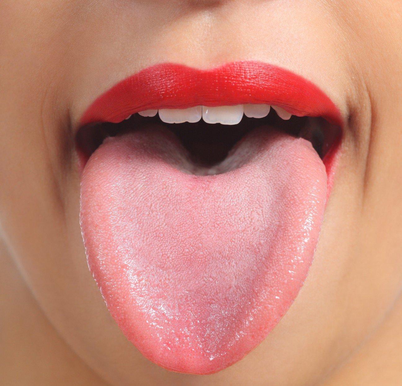 фото рот и язык