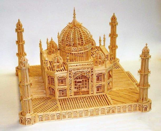 Мечеть из спичек своими руками 94