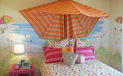 Детские комнаты с летним настроением (18 фото)