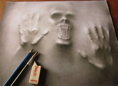 Реалистичные рисунки Джерамила Лу (5 фото)