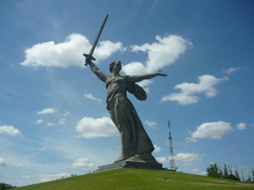 Город-герой Волгоград глазами Родины-матери (34 фото)
