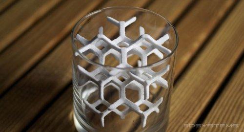 Кусочки сахара, напечатанные на 3D-принтере (18 фото)