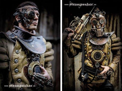 Стимпанк-костюмы Александра Шлезьера (9 фото)