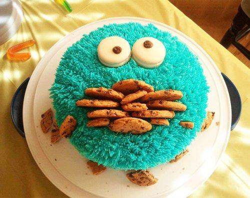 Креативные и необычные торты (28 фото)