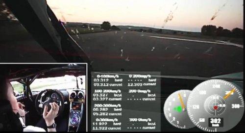 Суперкар Koenigsegg One:1 установил новый рекорд 0-300-0 км/ч