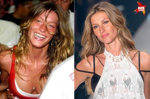 Знаменитые модели без макияжа (15 фото)