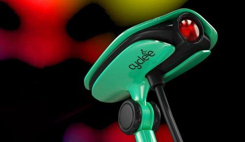 Проектор для велосипедистов, подающий нужные сигналы (4 фото)