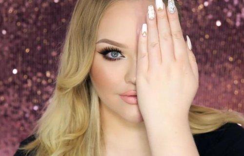 Новый Интернет-тренд: макияж на пол-лица (30 фото + видео)