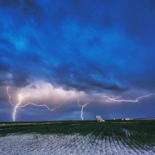 Завораживающая непогода в фотографиях Энди Хольца (13 фото)