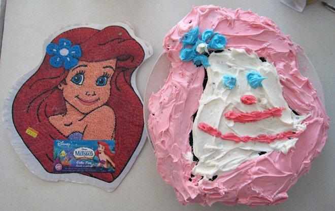 Vs реальность торты и выпечка 14 фото