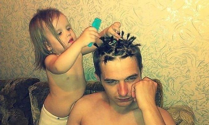 красивая дочка хотела только отца. смотреть фото 4