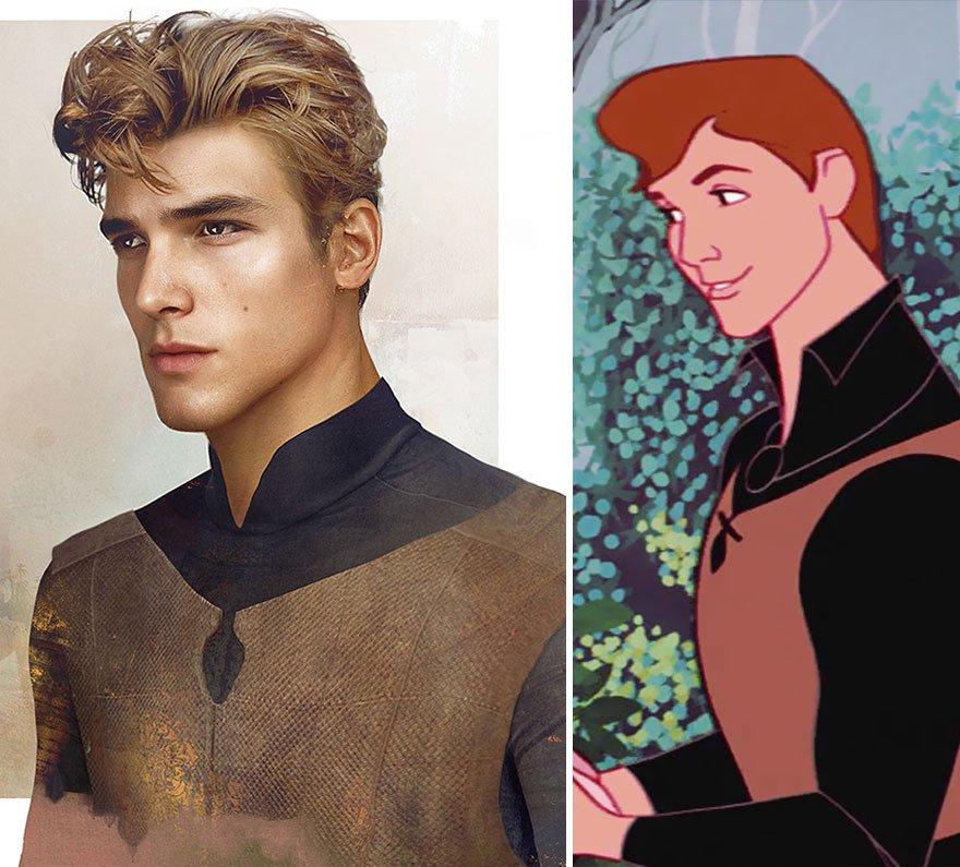 Как бы диснеевские принцы выглядели в реальной жизни