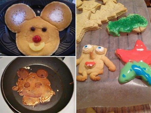 Ожидания vs. реальность: торты и выпечка (14 фото)