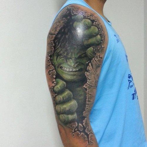 3D татуировки (28 фото)