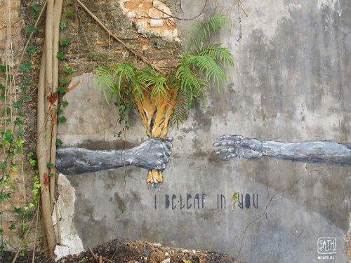 Рисунки уличного художника Sath (15 фото)