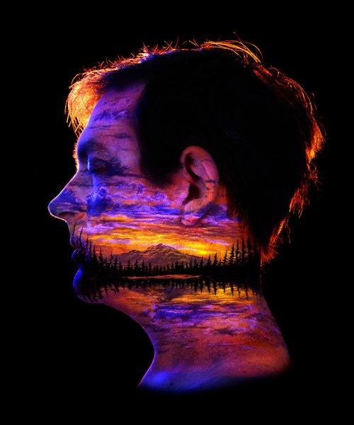 Потрясающий боди-арт от Джона Попплтона (23 фото + видео)