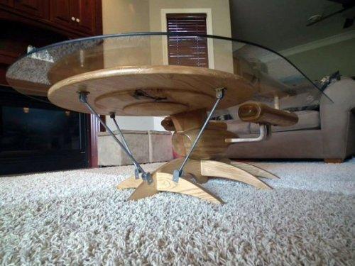 Кофейные столики для любителей фантастики (5 фото)