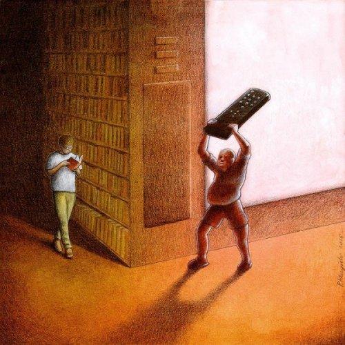 Сатирические иллюстрации Павла Кучински (21 фото)