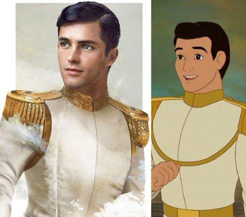 Как бы выглядели в реальной жизни диснеевские принцы (9 фото)