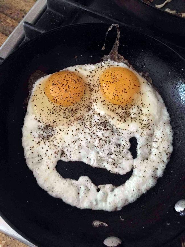 это яичница смешная фото данная