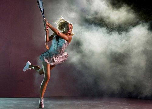 Знаменитые теннисистки в фотосессии Дьюи Никса (13 фото)