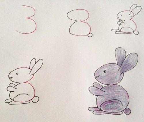 Цифры, которые научат рисовать (17 фото)