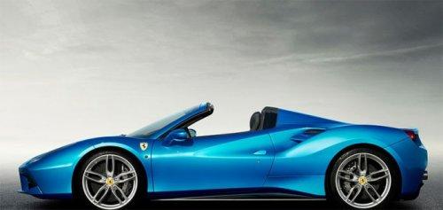 Новинка от Ferrari: кабриолет Ferrari 488 Spider (8 фото + видео)