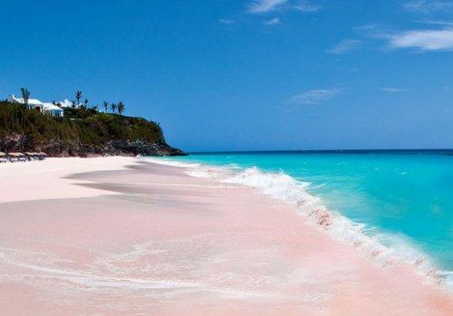Топ-10: Поразительные и необычно окрашенные пляжи
