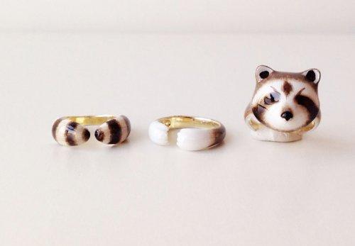 Оригинальные кольца, которые вместе составляют фигурку животного (10 фото)