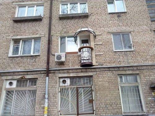 Балконная архитектура в России (18 фото)