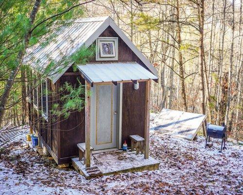 Крошечные дома людей, довольных жизнью (22 фото)