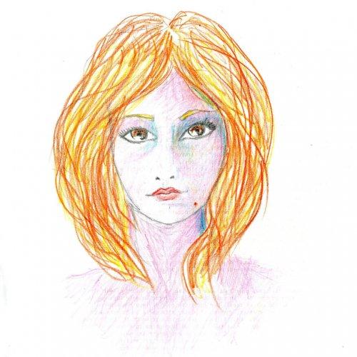 Автопортреты художницы, находившейся под воздействием ЛСД (11 шт)