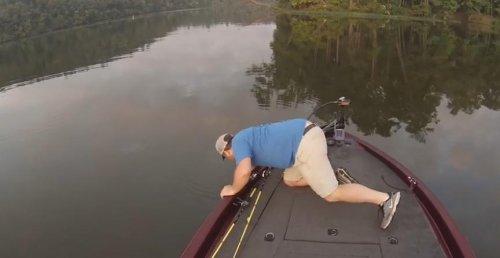 Необычный улов на реке Блэк Уорриор