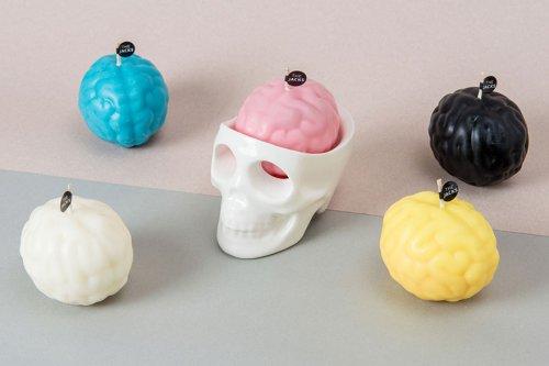 """""""Плачущие"""" свечи-черепа от дизайнеров """"The Jacks"""" (4 фото + видео)"""
