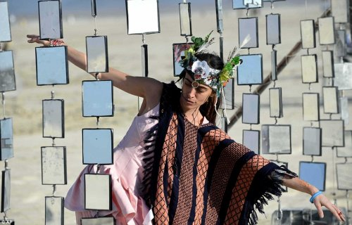 Ежегодный фестиваль Burning Man (20 фото)