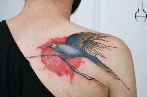 Татуировки Сэнни Ваги, вдохновлённые природой (14 фото)