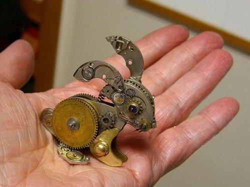 Стимпанк-скульптуры Сьюзан Беатрис (15 фото)